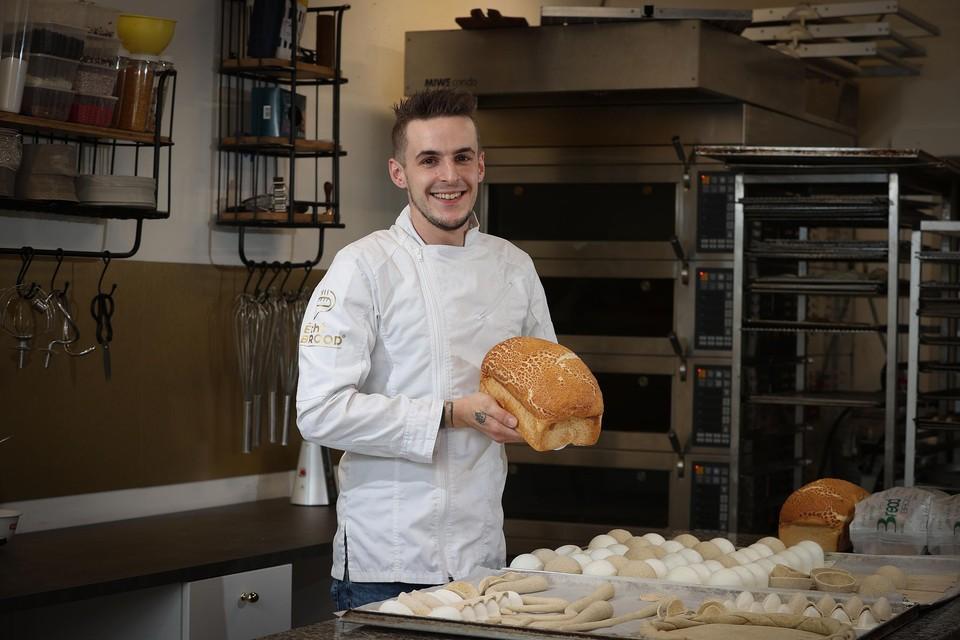 """""""Een brood per dag kan ik wel missen"""", zegt Kenneth Van Hoesen."""