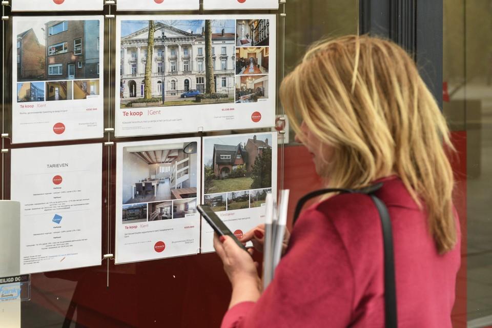De vastgoedmarkt draait op volle toeren.