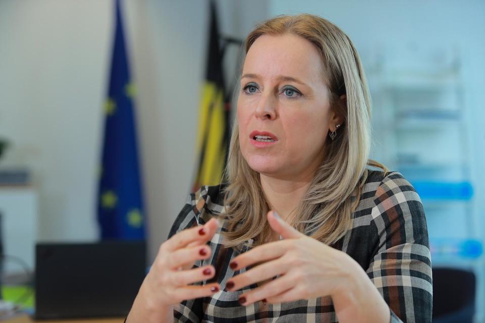 Staatssecretaris Eva De Bleeker.