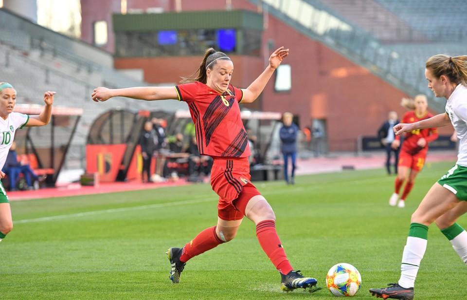 Tine De Caigny scoorde het enige doelpunt