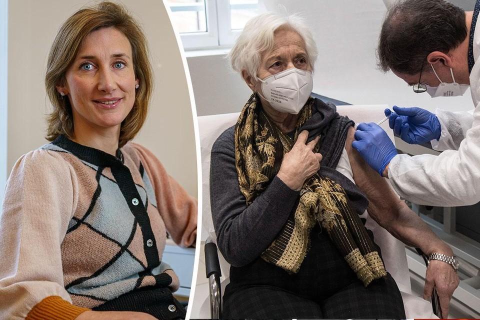 Vaccinologe Isabel Leroux-Roels.