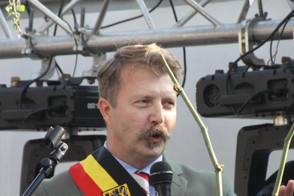 Stijn Van Baelen burgemeester van Bocholt
