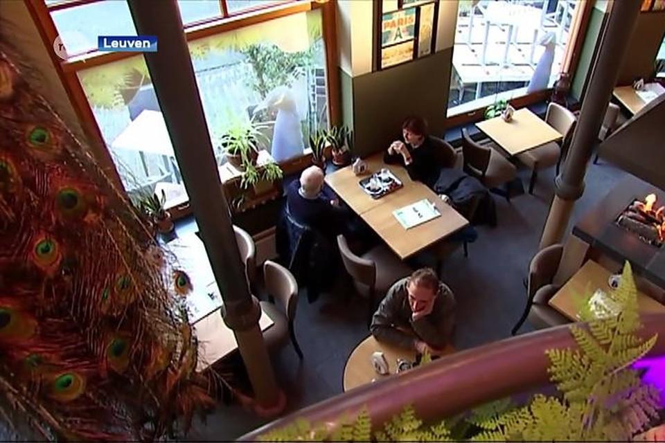 Restaurant De Blauwe Schuit in Leuven. Archiefbeeld.