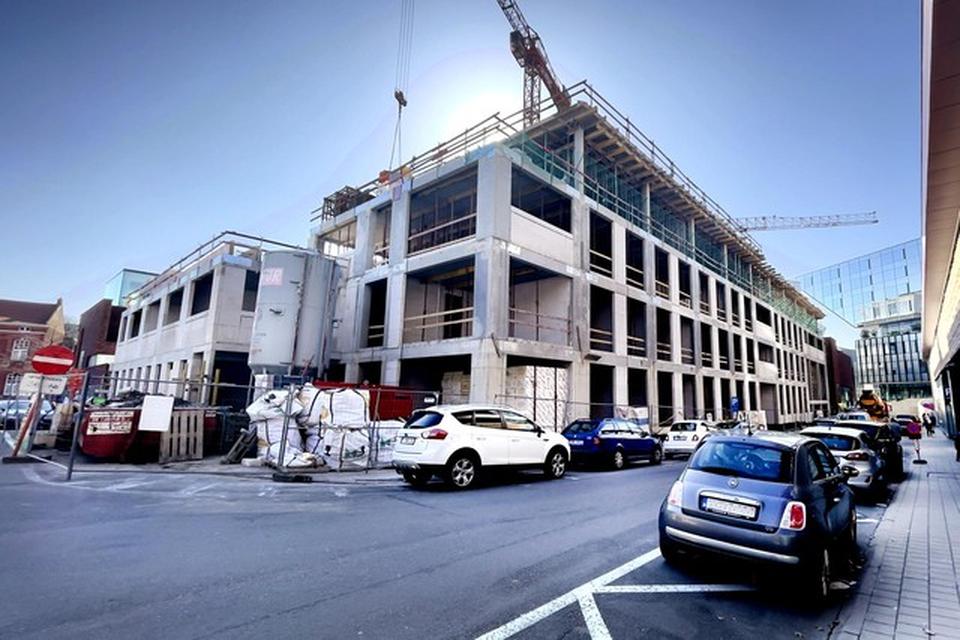 Het nieuwe gebouw van De Voorzorg in Hasselt.