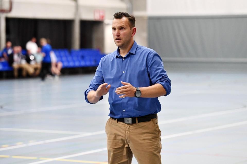 Bolderberg-coach Bart Schapmans verving de donderdagtraining door een bezoekje aan Hasselt Kermis.