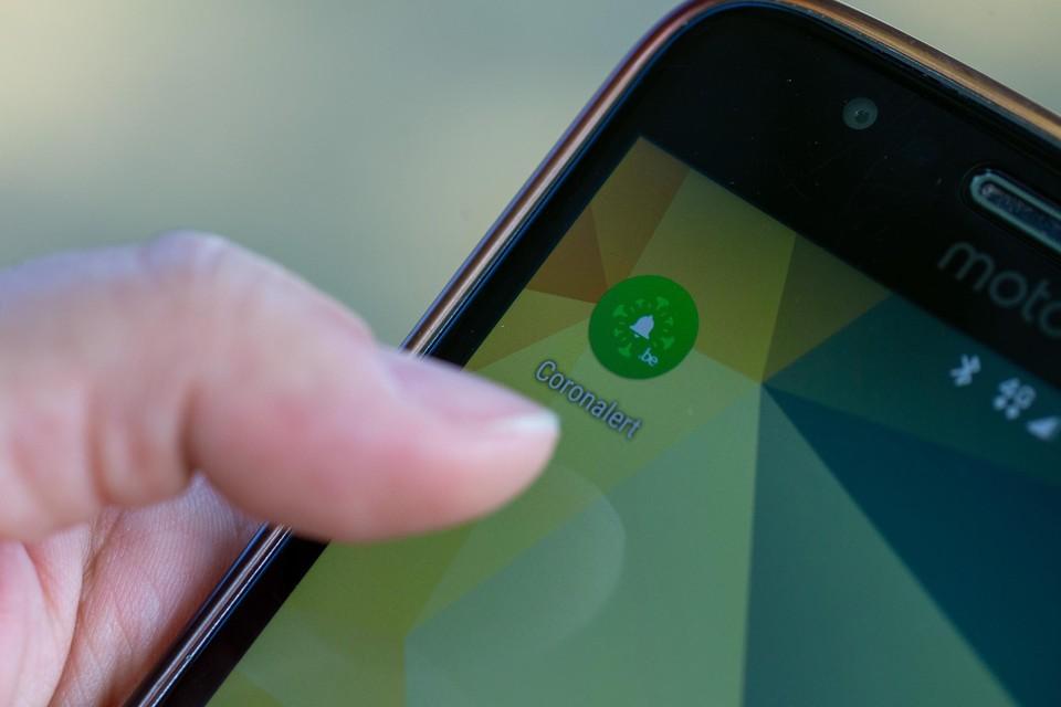 Slechts één op de vier Belgen - in totaal 2,75 miljoen -  heeft de app gedownload.