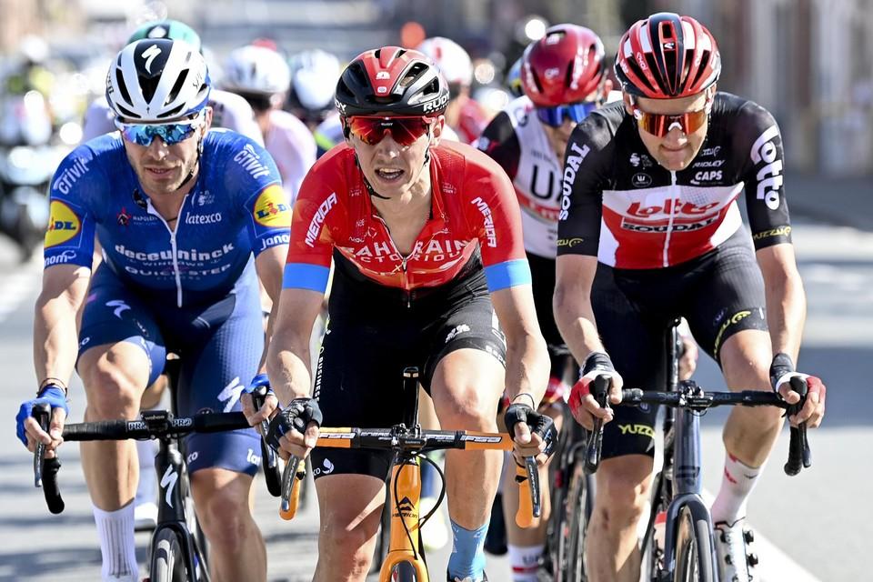 Dylan Teuns en Tim Wellens rijden Eschborn-Frankfurt.