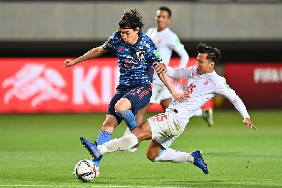 Junya Ito scoorde zelf niet tegen Myanmar.