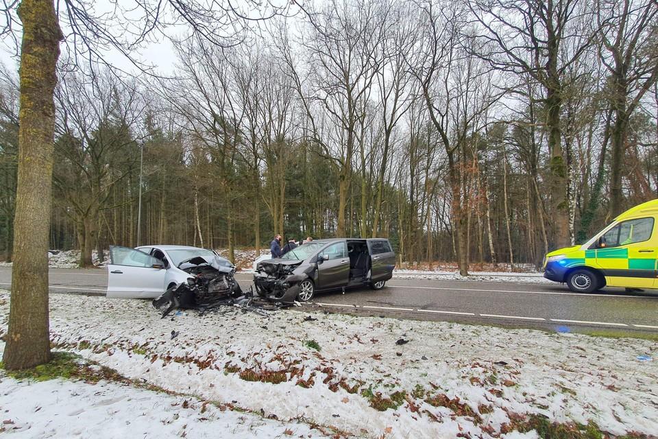 Een ongeval op de Baan naar Bree in Peer begin deze week.