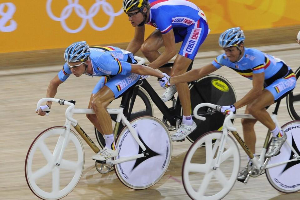 Keisse en De Ketele vormden ooit zelf een olympisch duo.