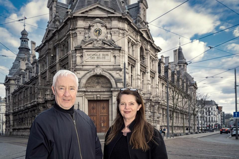Donum, de designzaak van Jos Peeters en Noëlla Vangeel, neemt zijn intrek in het historische gebouw van de Nationale Bank in Antwerpen.