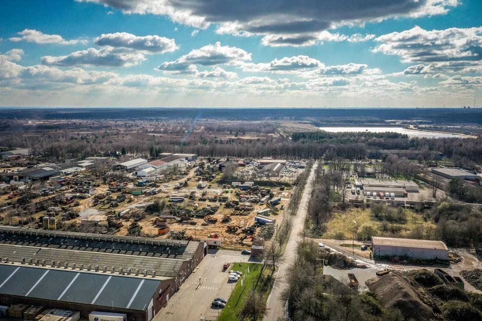 Industriegebied Op de Bergmoet tegen 2040 bos en natuurgebied zijn.