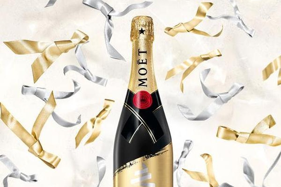 Fles bubbels - Moët  Chandon - 45 euro