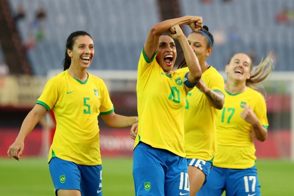 Marta scoorde al voor de vijfde opeenvolgende keer op de Olympische Spelen