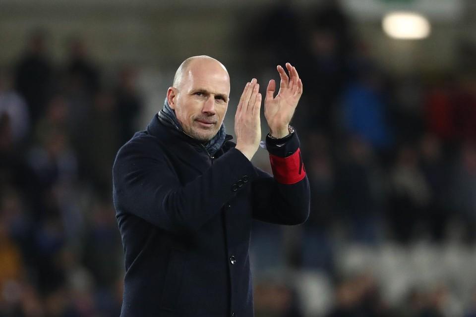 Philippe Clement blijft voor onbepaalde duur bij Club Brugge.