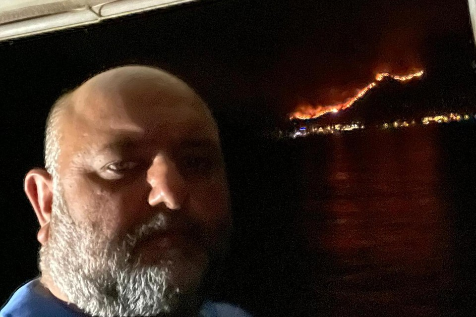 """Fatih Ciftci uit Genk: """"We hebben zelf beslist de vlucht vooruit te nemen en met een boot via de zee proberen te ontsnappen. Met succes."""""""