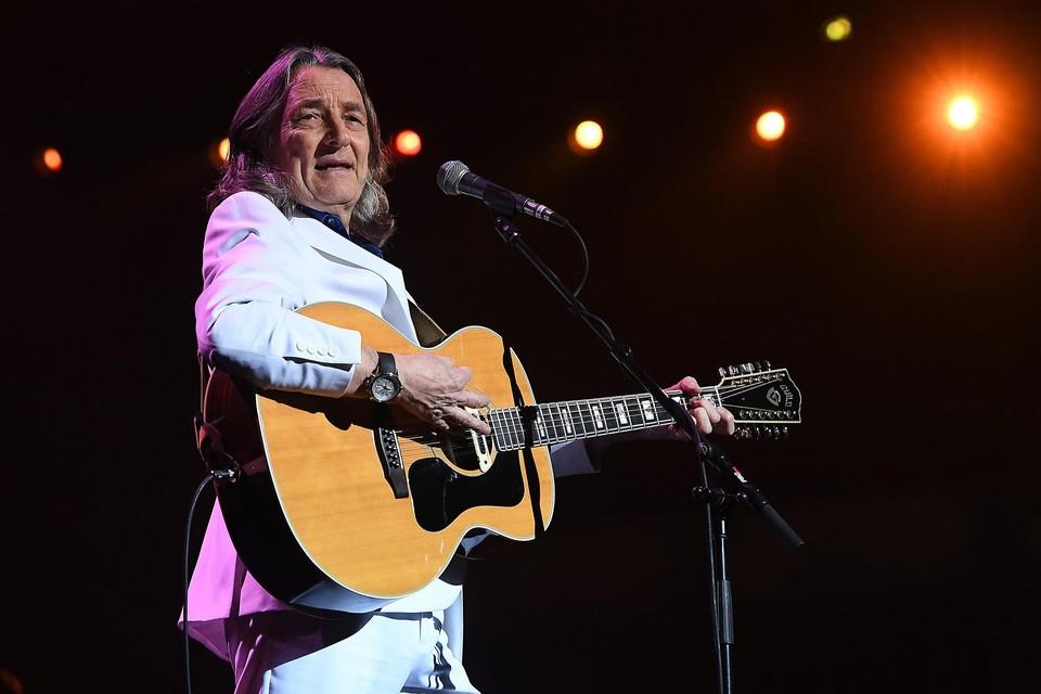 De Britse singer-songwriter Roger Hodgson.