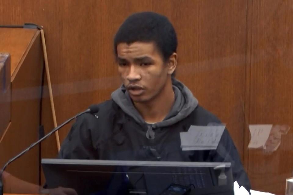 Winkelbediende Christopher Martin (19) kwam getuigen op het proces.