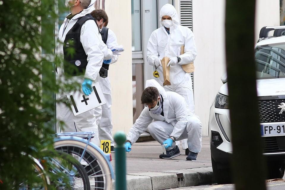 De aanslag vond plaats nabij de vroegere kantoren van Charlie Hebdo.