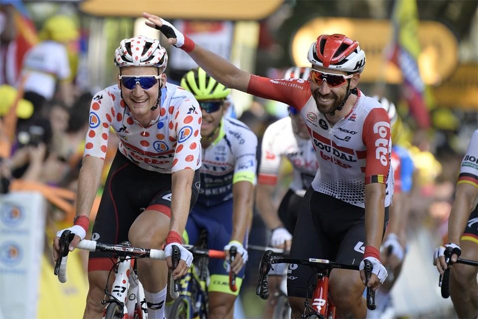 Wellens en De Gendt zijn goede vrienden, zondag nemen ze het tegen mekaar op in een virtuele Ronde van Vlaanderen.
