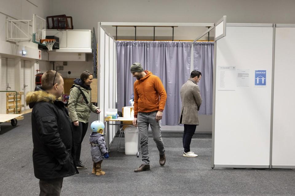 Verkiezingen in IJsland.