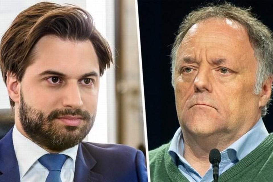 Georges-Louis Bouchez en Marc Van Ranst