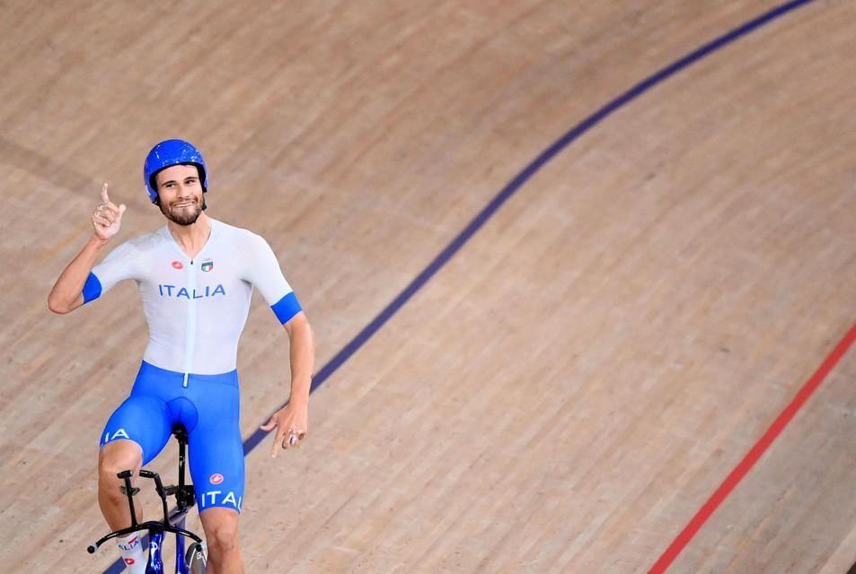 Een ronduit indrukwekkende Filippo Ganna haalde in de slotronde Denemarken bij.