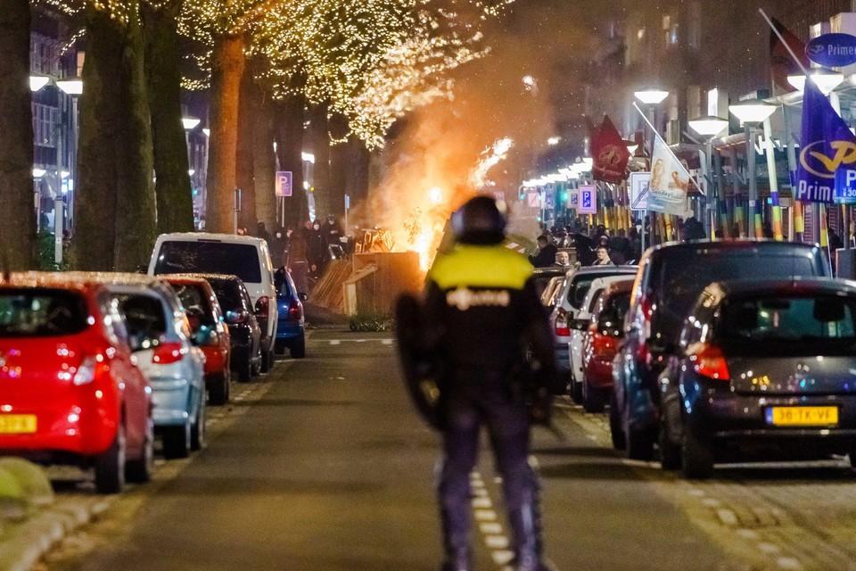 In heel Nederland werd er de afgelopen dagen duchtig geprotesteerd tegen de avondklok, met rellen tot gevolg.
