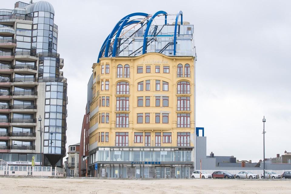 Het totale kostenplaatje van hotel Petit Rouge bedroeg 14,4 miljoen euro.