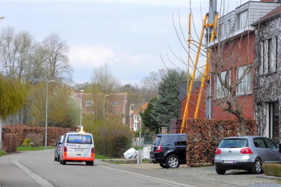 De politie begaf zich vrijdag naar Rapertingen voor het vooronderzoek.