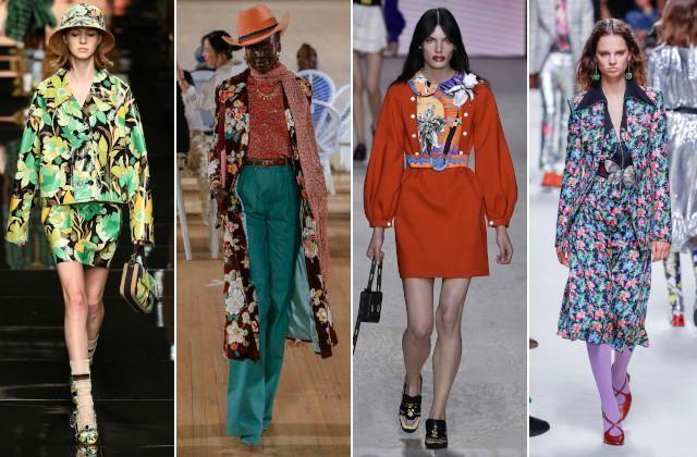 Vlnr: Fendi, Marc Jacobs, Louis Vuitton en Paco Rabanne
