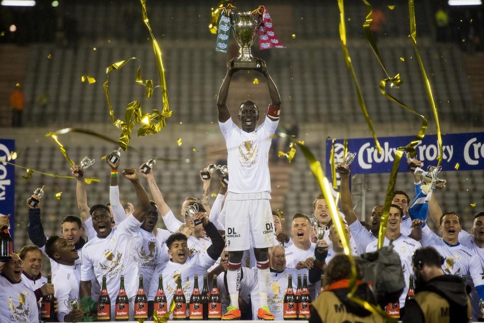 In 2017 mocht Mbaye Leye als aanvoerder de trofee in de lucht steken na een overwinning in de penaltyreeks tegen KV Oostende.