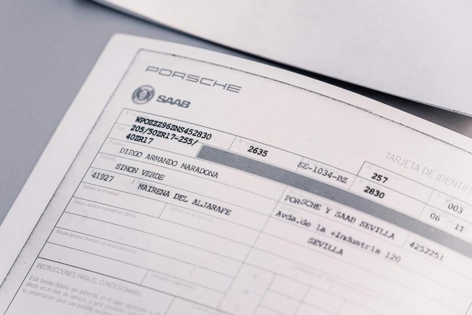 Het inschrijvingsbewijs.