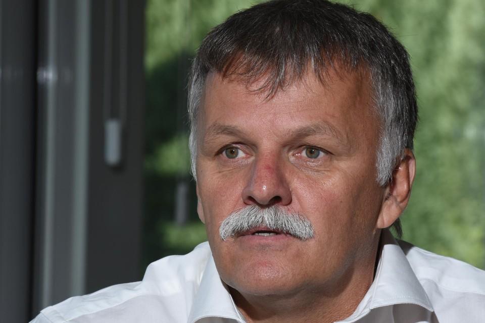 Burgemeester Rik Kriekels.