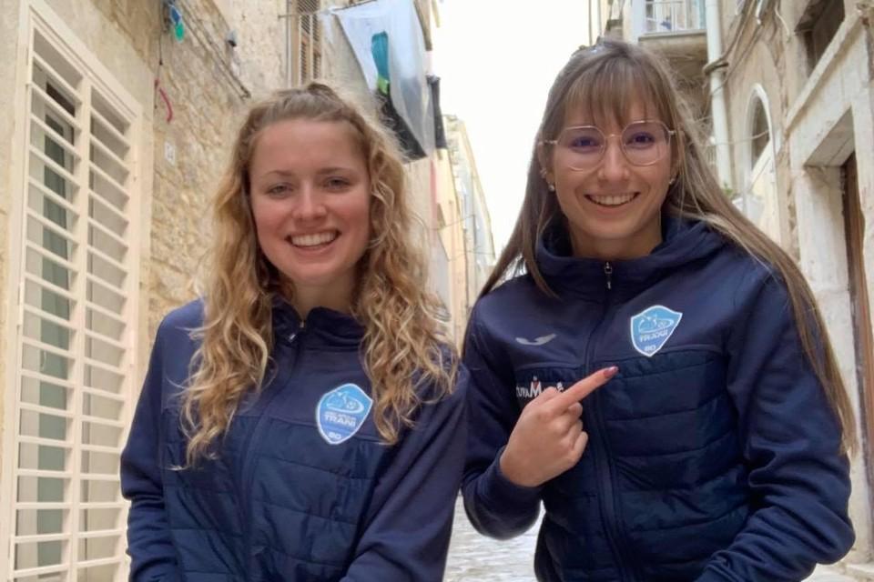 Shana Raïs is in Italië ploeg- en huisgenote van Aster Janssen.