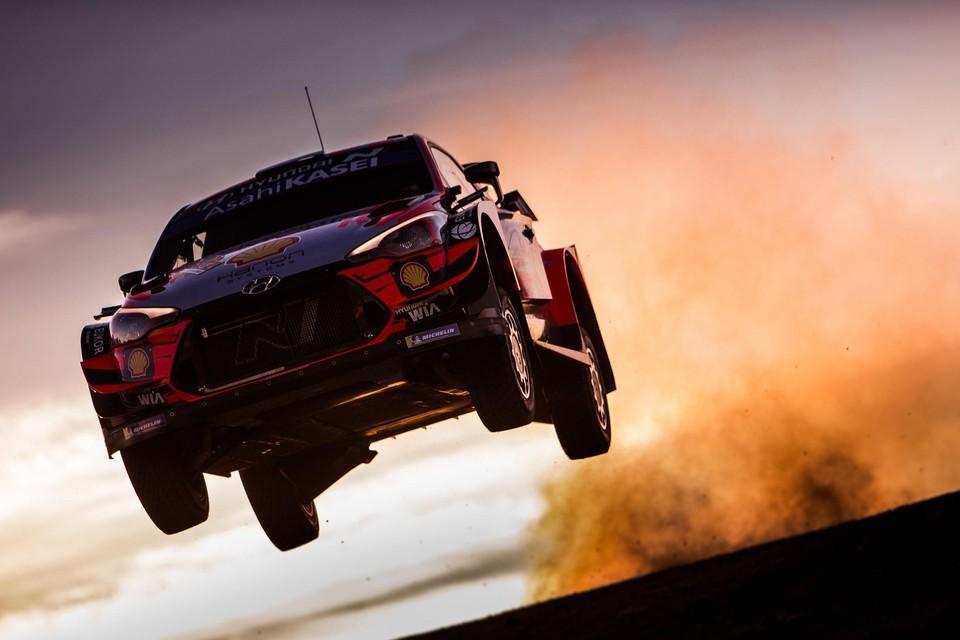 Ott Tanak in het WRC. Zaterdag ook te bewonderen in het BRC.