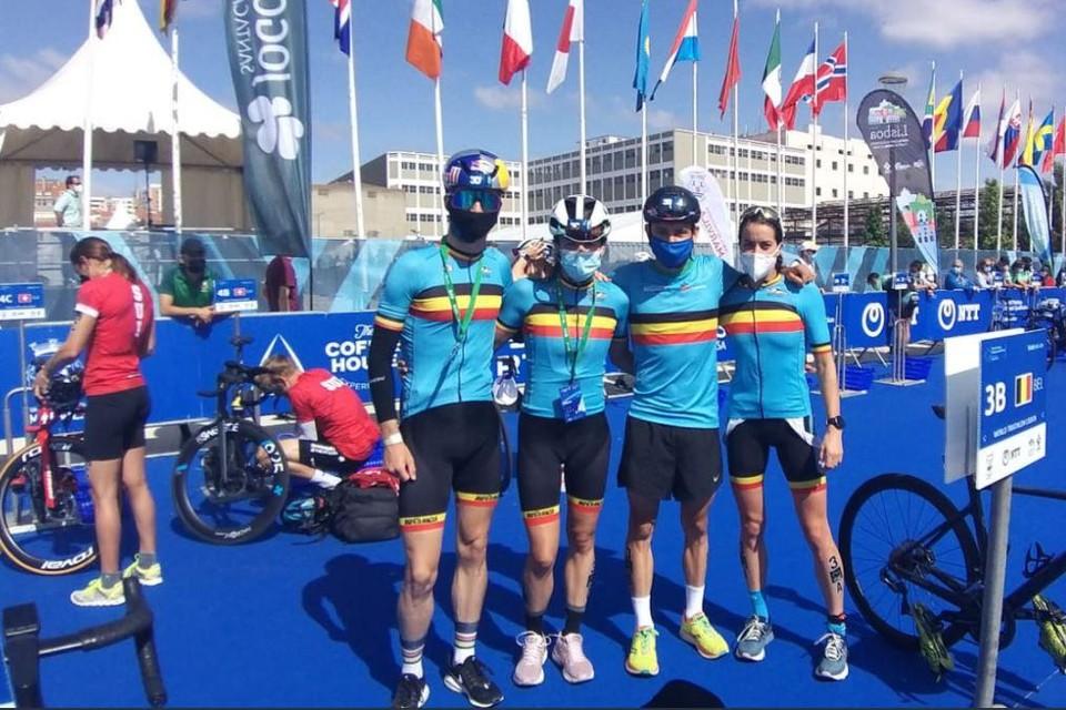 Marten Van Riel, Valerie Barthelemy, Jelle Geens en Claire Michel: de Belgian Hammers mogen naar de Olympische Spelen in de nieuwe olympische discipline