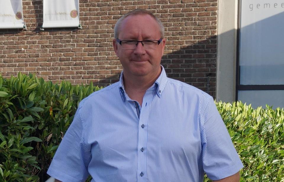Burgemeester Kristof Pirard van Heers.