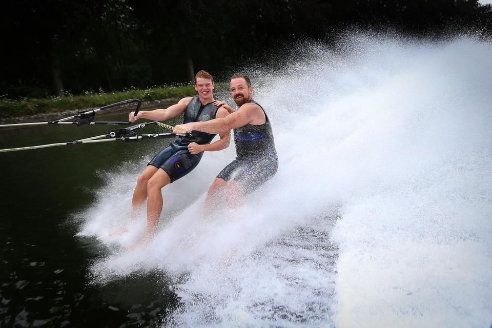Jan Baillien en zoon Tobe moeten dit weekend forfait geven.