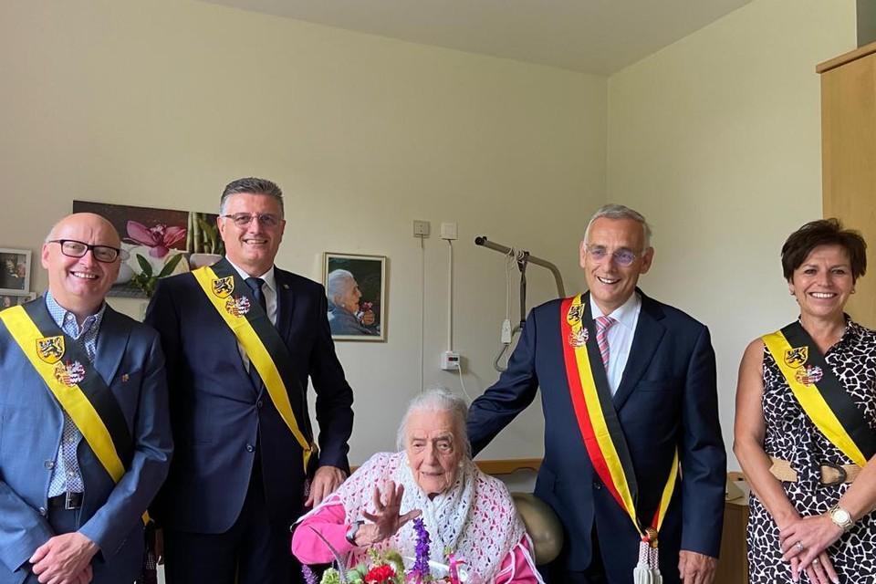 Irène Giusti is met 108 jaren de oudste Limburger.