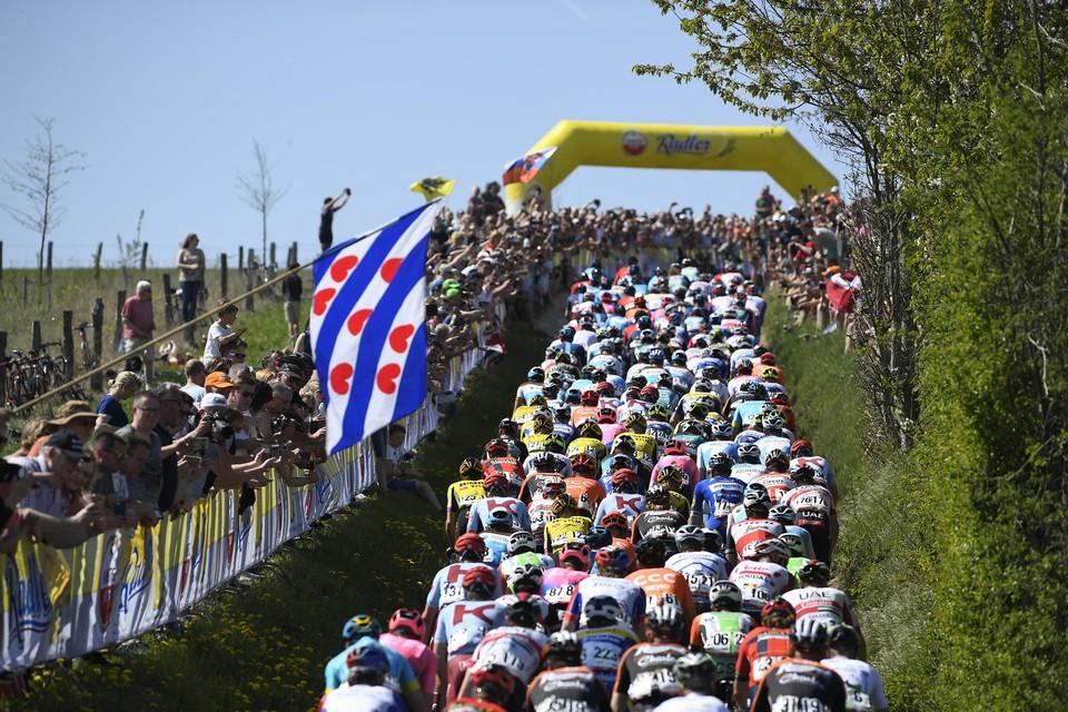 Noch de Gulperberg, noch fans langs de kant van de weg maken deel uit van de Amstel-editie 2021.