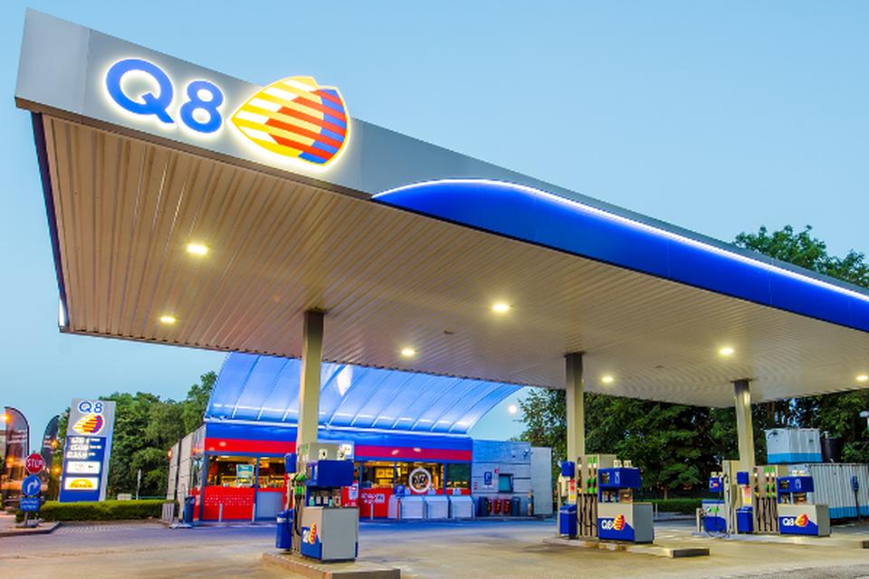 Q8 telt 465 tankstations in ons land.