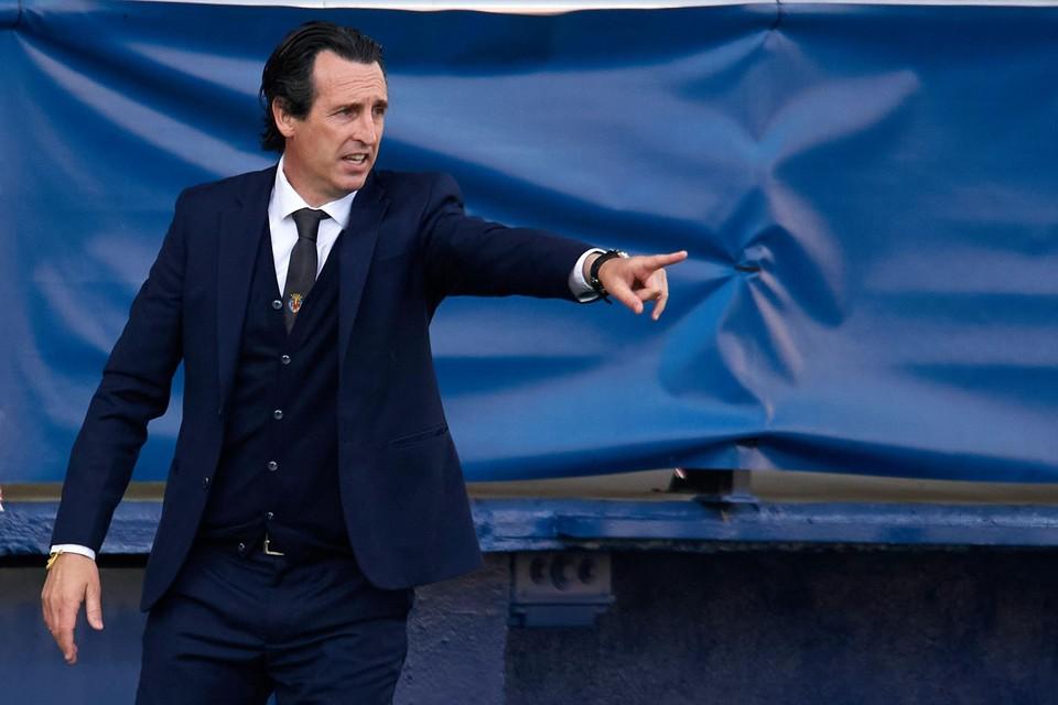 Unai Emery hoopt met Villarreal zijn vierde Europa League te winnen
