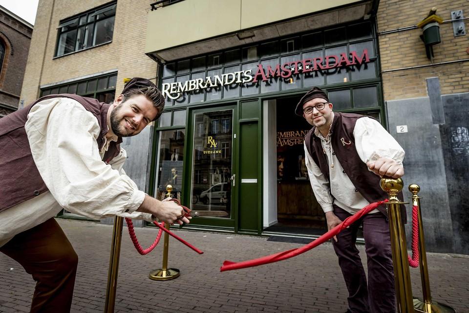 Het Rembrandts Museum in Amsterdam.