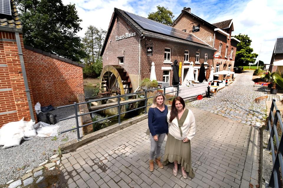 Het zit de zussen Sabine en An Janssens van brasserie De Elzartmolen en de bijhorende B&B niet mee.