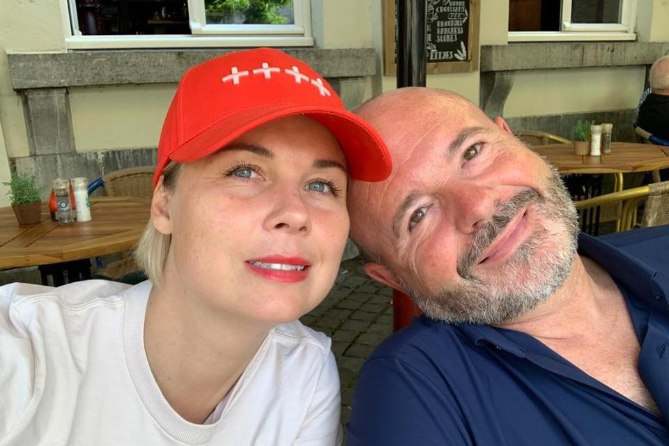 Cara Van der Auwera en Guy Joosten.
