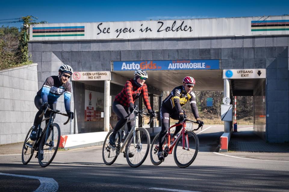 Een passage langs het Circuit van Zolder, waar Marc Wauters cycling manager is, mag niet ontbreken.