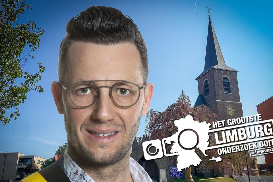 Burgemeester Dries Deferm.