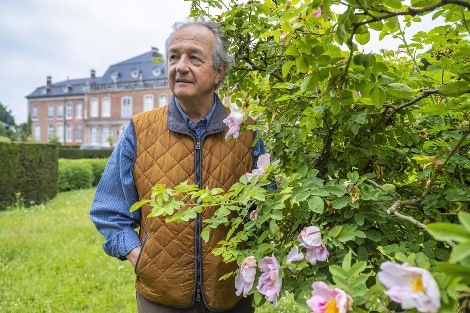 Graaf Ghislain d'Ursel (68) ontvangt jaarlijks zo'n 20.000 kijklustigen in het kasteel van Hex.