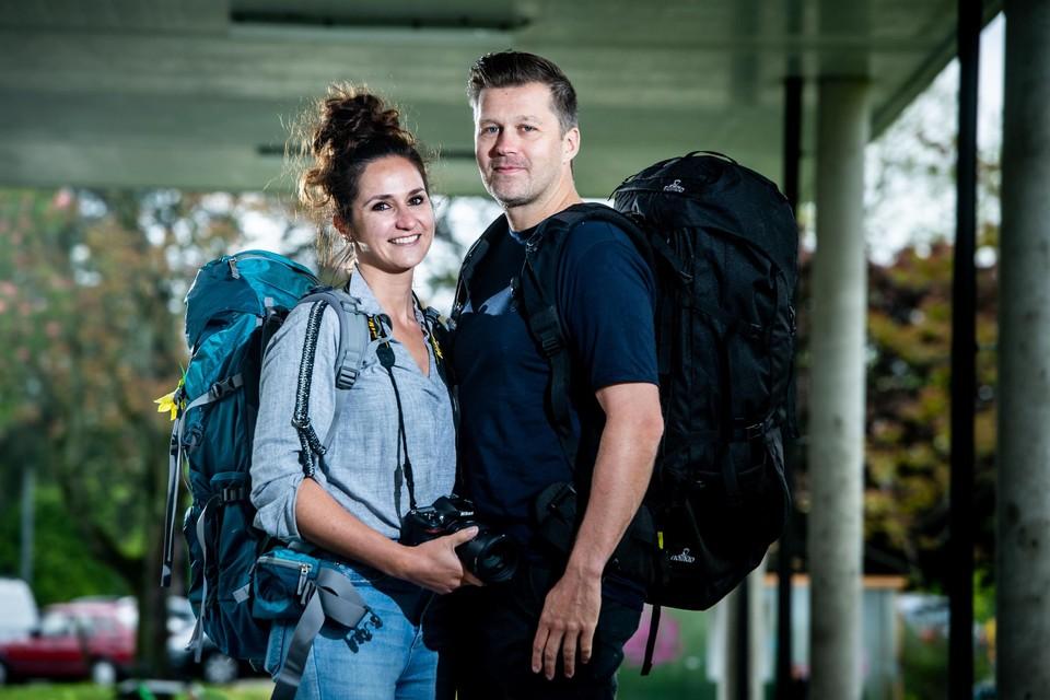 """Sofie Nouwen en Rik Stryckers vertrekken voor een jaar: """"Het moet vooral genieten worden."""""""